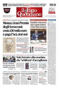 Il Fatto Quotidiano - 02 settembre 2018