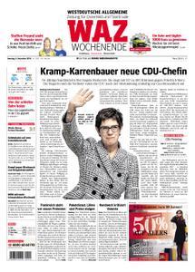 WAZ Westdeutsche Allgemeine Zeitung Oberhausen-Sterkrade - 08. Dezember 2018