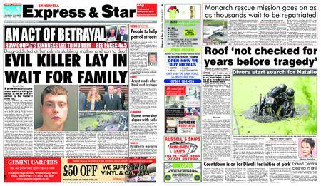 Express and Star Sandwell Edition – October 04, 2017