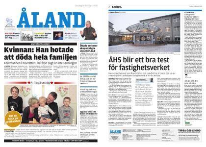 Ålandstidningen – 14 februari 2018