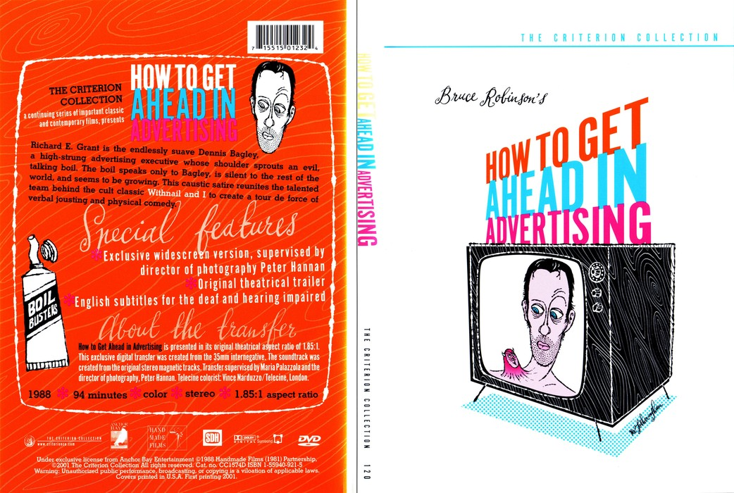 How to Get Ahead in Advertising (1989) [The Criterion Collection #120 - Out Of Print] [Re-UP]