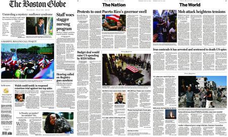 The Boston Globe – July 23, 2019