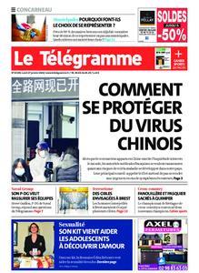Le Télégramme Concarneau – 27 janvier 2020