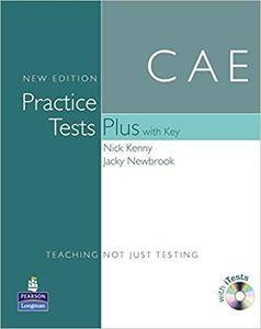 CAE Practice Tests Plus Students Book With Key (with 2CD) (Repost)