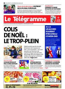 Le Télégramme Ouest Cornouaille – 17 décembre 2020