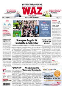 WAZ Westdeutsche Allgemeine Zeitung Oberhausen-Sterkrade - 26. Oktober 2018