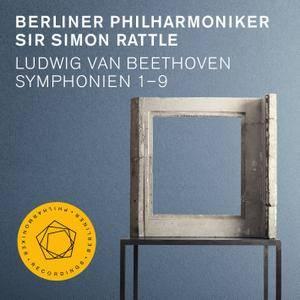 Simon Rattle, Berliner Philharmoniker - Beethoven: Symphonien 1-9 (2016) [Official Digital Download 24bit/192kHz] RE-UP