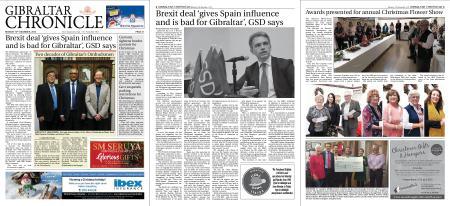 Gibraltar Chronicle – 10 December 2018