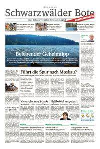 Schwarzwälder Bote Oberndorf - 20. Juli 2018
