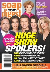 Soap Opera Digest - November 05, 2018