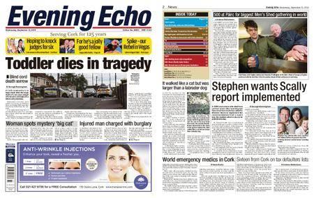 Evening Echo – September 12, 2018