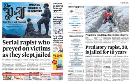 The Press and Journal Moray – February 21, 2020