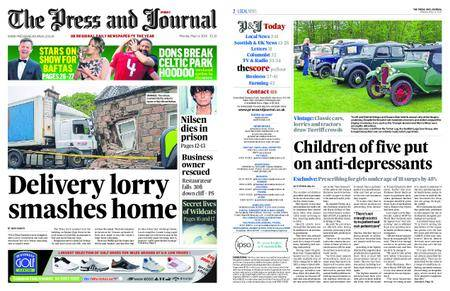 The Press and Journal Moray – May 14, 2018