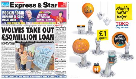 Express and Star Sandwell Edition – October 19, 2019