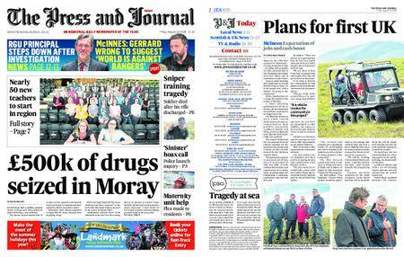 The Press and Journal Moray – August 10, 2018