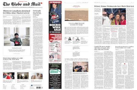 The Globe and Mail – January 04, 2019