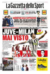 La Gazzetta dello Sport Roma – 09 novembre 2019