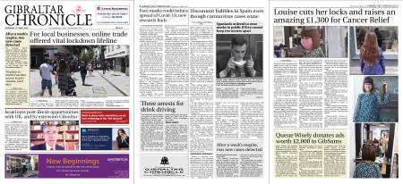Gibraltar Chronicle – 21 May 2020