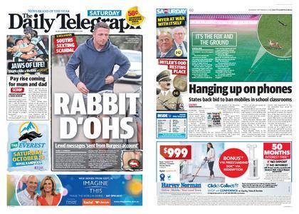 The Daily Telegraph (Sydney) – September 15, 2018