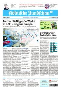 Kölnische Rundschau Wipperfürth/Lindlar – 18. März 2020