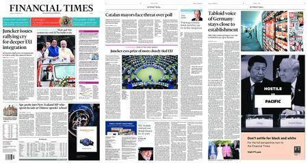 Financial Times Europe – September 14, 2017