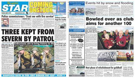 Shropshire Star Shrewsbury Edition – April 03, 2018