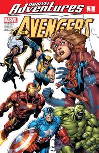Marvel Adventures The Avengers 001 2006 Digital Shadowcat