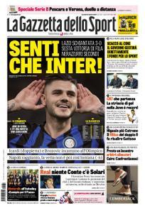 La Gazzetta dello Sport Roma – 30 ottobre 2018