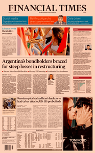 Financial Times Europe – 22 October 2019