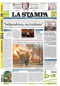 La Stampa Torino Provincia e Canavese - 11 Ottobre 2017