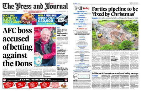 The Press and Journal Moray – December 22, 2017