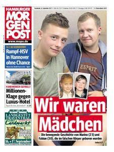 Hamburger Morgenpost - 16. September 2017