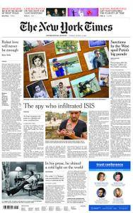 International New York Times - 14 August 2018