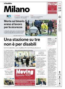 la Repubblica Milano - 4 Aprile 2019