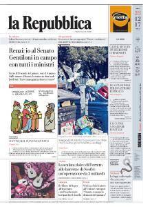 la Repubblica - 23 Dicembre 2017