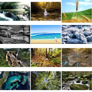 Wallpapers Nature. Set 23