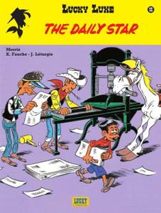 "Strip - ""Lucky Luke - 55 - The Daily Star cbr"
