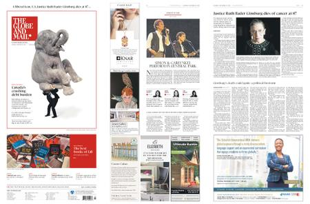 The Globe and Mail – September 19, 2020
