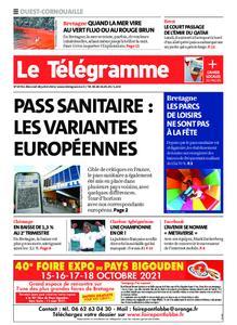 Le Télégramme Ouest Cornouaille – 28 juillet 2021