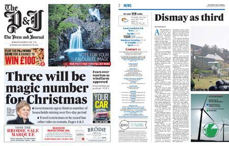 The Press and Journal Moray – November 25, 2020