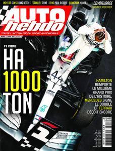 Auto Hebdo - 18 avril 2019