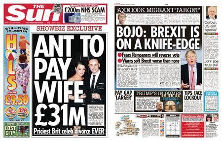 The Sun UK – 15 January 2018