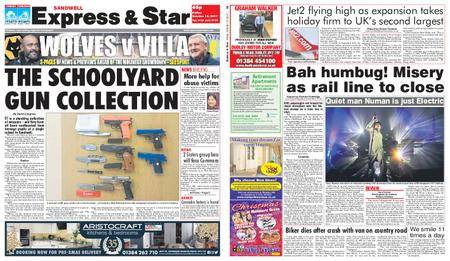 Express and Star Sandwell Edition – October 13, 2017