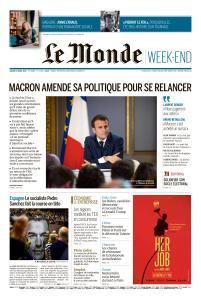 Le Monde du Samedi 27 Avril 2019