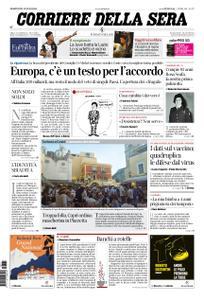 Corriere della Sera – 21 luglio 2020
