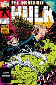 Incredible Hulk 385 1991a
