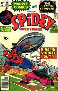 Spider-Man [3071] Spidey Super Stories 29