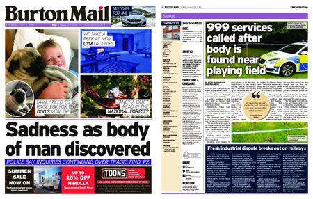 Burton Mail – August 02, 2019