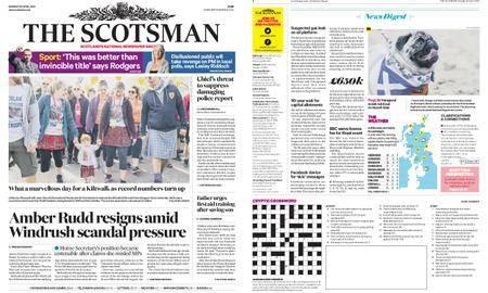 The Scotsman – April 30, 2018