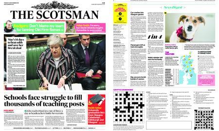 The Scotsman – November 27, 2018